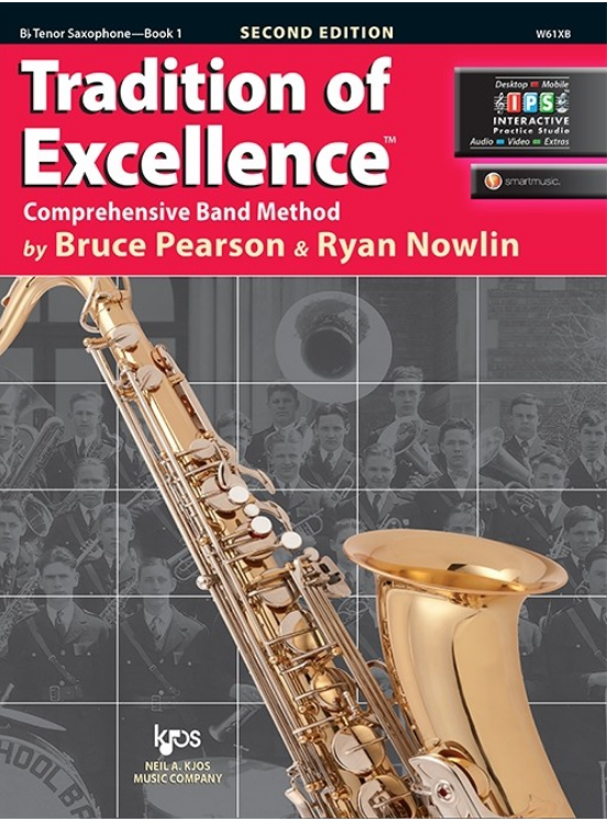 Tradition of Excellence, Book 1 (Tenor Sax)