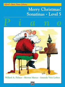 Alfred's Basic Piano Library: Merry Christmas!, Level 5 (Sonatinas)