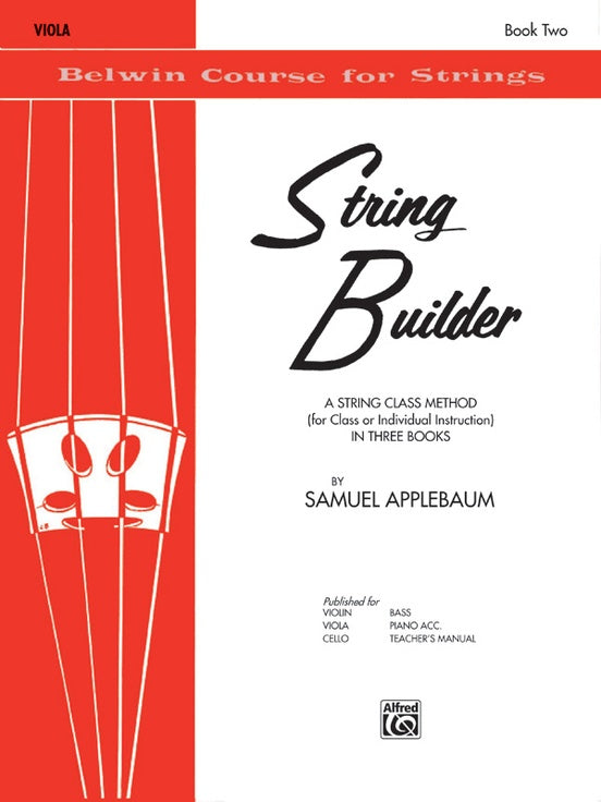 Belwin Course for Strings, String Builder: Viola, Book 2