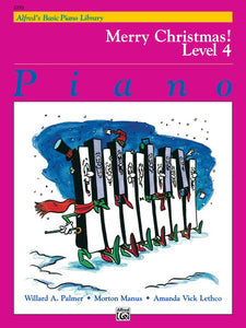 Alfred's Basic Piano Library: Merry Christmas!, Level 4