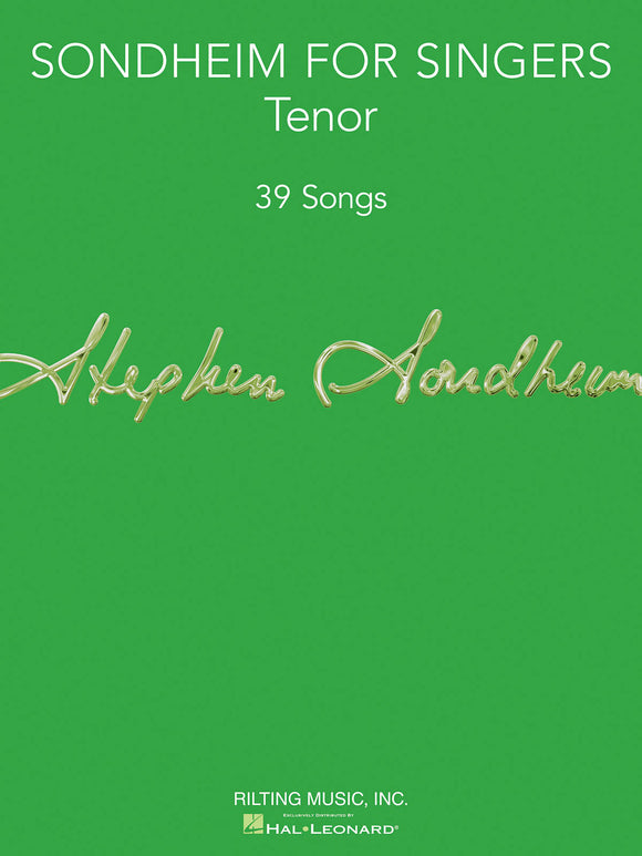Sondheim for Singers (Tenor)