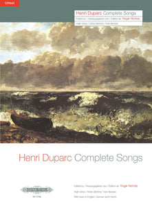 Duparc Complete Songs (High Voice)