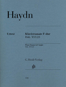 Haydn Piano Sonata in F Major (Hob. XVI:23)