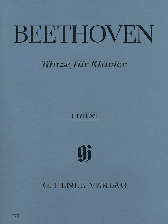 Beethoven Dances for Piano