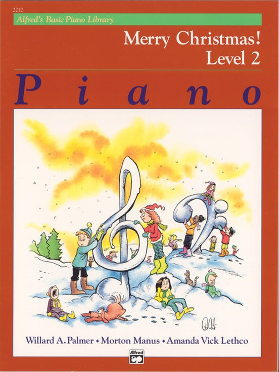 Alfred's Basic Piano Library: Merry Christmas!, Level 2