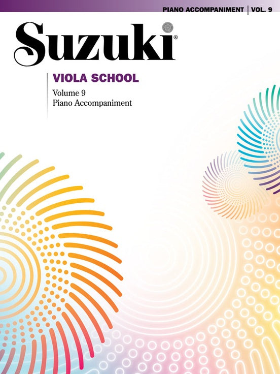 Suzuki Viola School: Piano Accompaniment, Volume 09