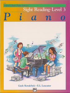 Alfred's Basic Piano Library: Sightreading Book, Level 3