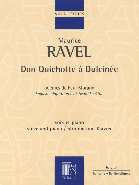 Ravel Don Quichotte à Dulcinée