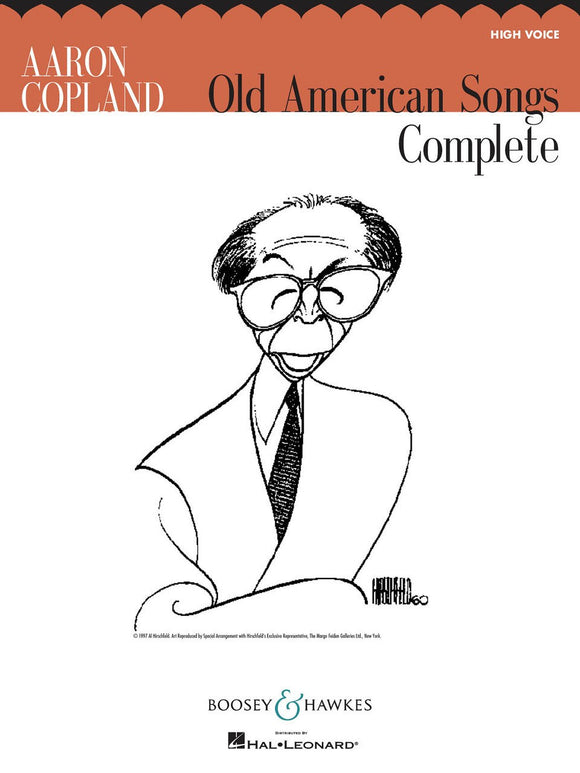 Aaron Copland Old American Songs Complete (High Voice)