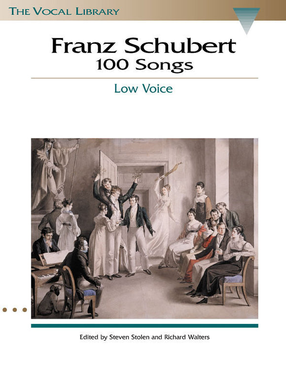 Franz Schubert 100 Songs (Low Voice)