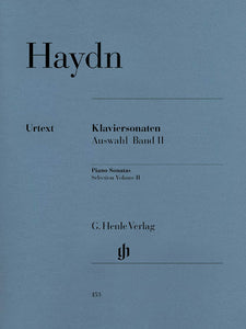 Haydn Selected Piano Sonatas, Volume II