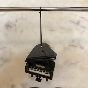 Grand Piano Ornament (Black)