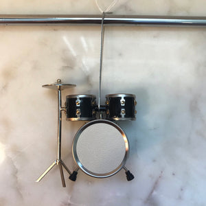 Drum Set (Black) Ornament