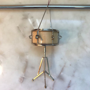Snare Drum (Natural Wood) Ornament