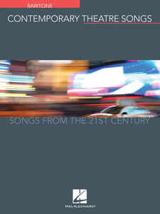 Contemporary Theatre Songs (Baritone)