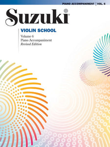 Suzuki Violin School: Piano Accompaniment, Volume 06 (Revised Edition)