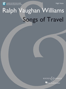Ralph Vaughn Williams Songs of Travel (High Voice)