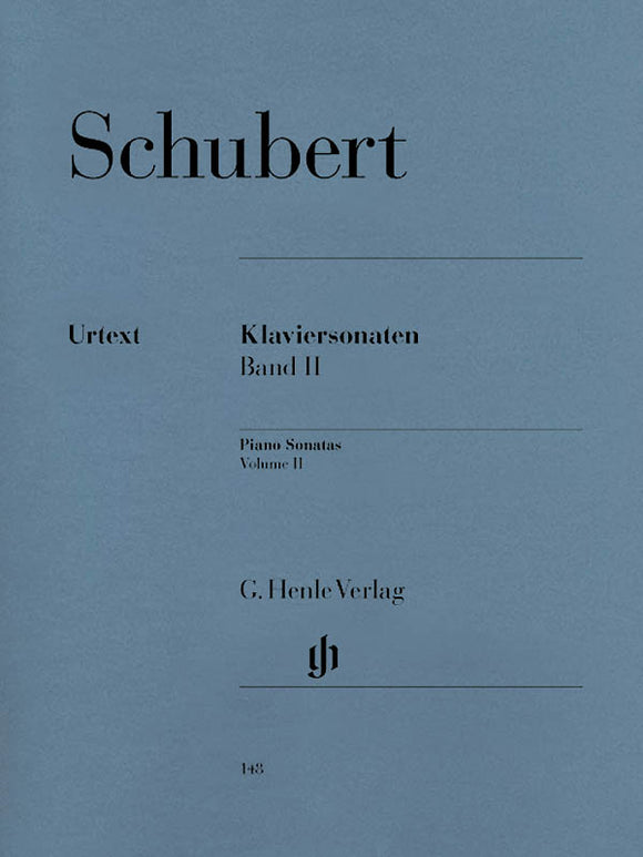 Schubert Piano Sonatas, Volume II