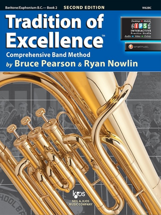 Tradition of Excellence, Book 2 (Baritone - Euphonium)
