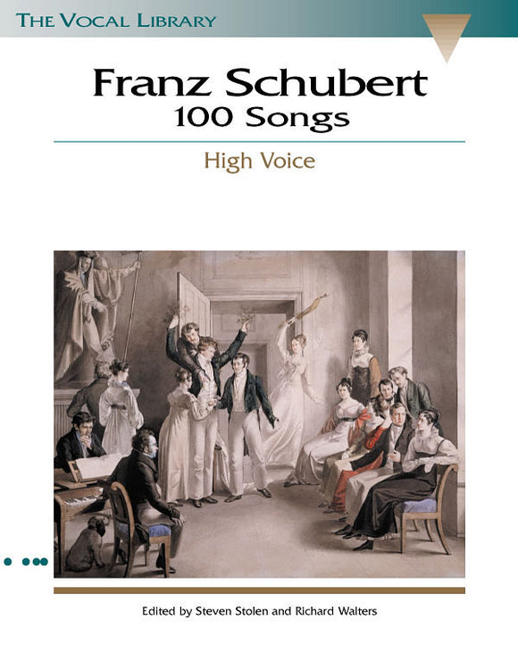Franz Schubert 100 Songs (High Voice)