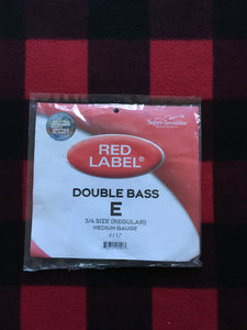 Super-Sensitive Red Label Orchestral Bass String (E-String)