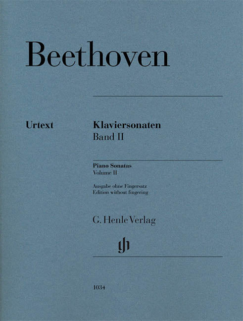 Beethoven Piano Sonatas, Volume II (Edition without Fingering)