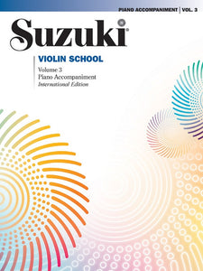 Suzuki Violin School: Piano Accompaniment, Volume 03 (Revised Edition)