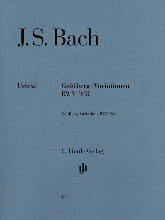 Bach, J.S. Goldberg Variations (BWV 988)