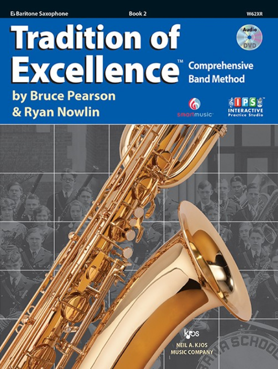 Tradition of Excellence, Book 2 (Baritone Sax)