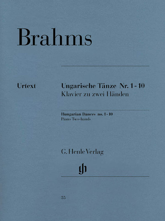 Brahms Hungarian Dances Nos. 1 - 10