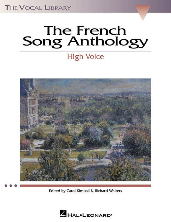 The French Song Anthology (High Voice)
