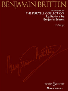 Benjamin Britten The Purcell Collection (Medium / Low Voice)