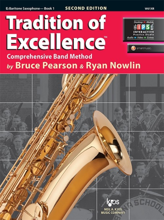 Tradition of Excellence, Book 1 (Baritone Sax)