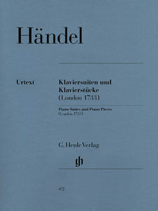 Händel Piano Suites and Piano Pieces (London 1733)