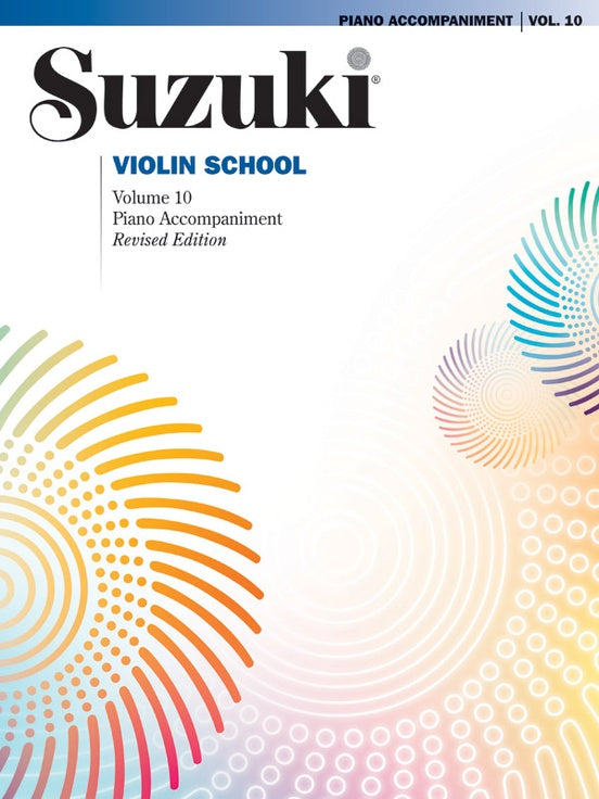 Suzuki Violin School: Piano Accompaniment, Volume 10 (Revised Edition)