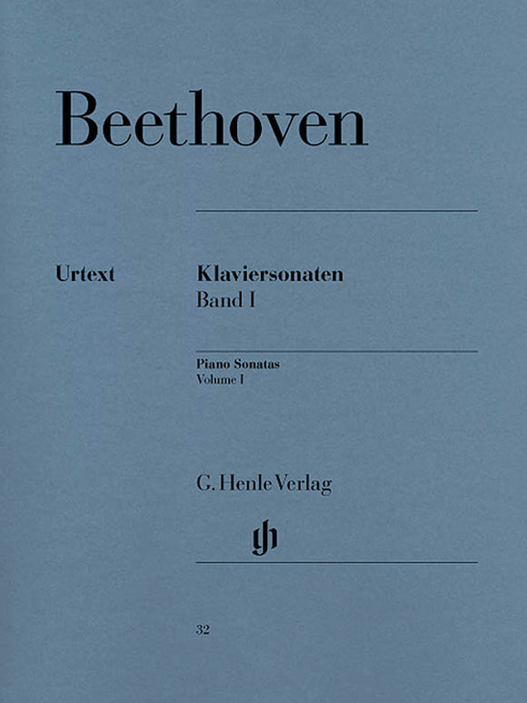 Beethoven Piano Sonatas, Volume I (Edition with Fingering)