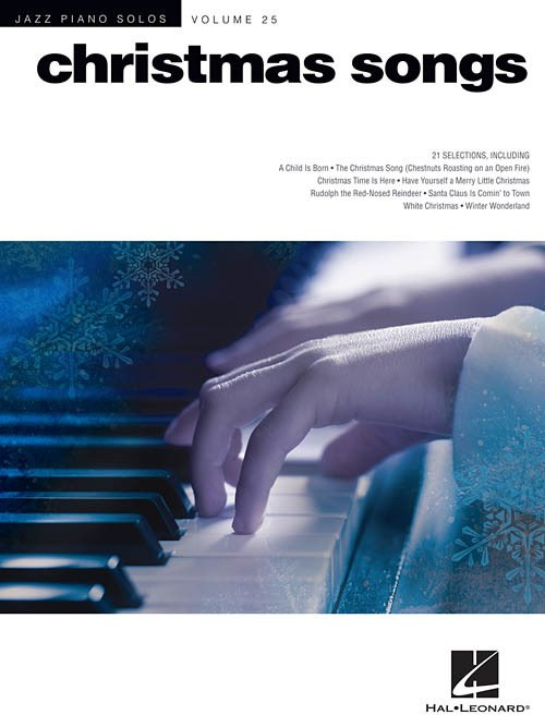 Jazz Piano Solos Volume 25 Christmas Songs