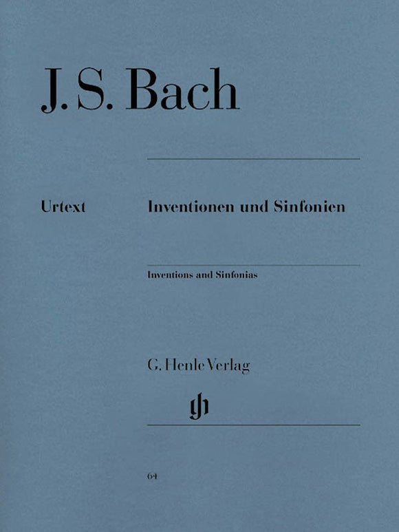 Bach, J.S. Inventions & Sinfonias