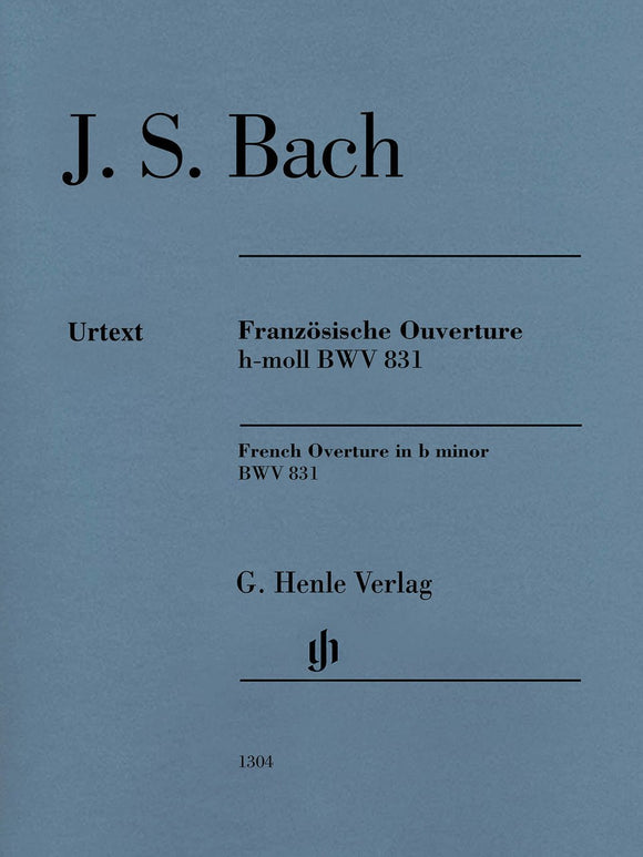 Bach, J.S. French Overture in B Minor (BWV 831)