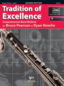 Tradition of Excellence, Book 1 (Bass Clarinet)