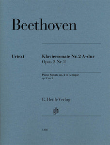 Beethoven Piano Sonata No. 2 in A Major, Op. 2, No. 2
