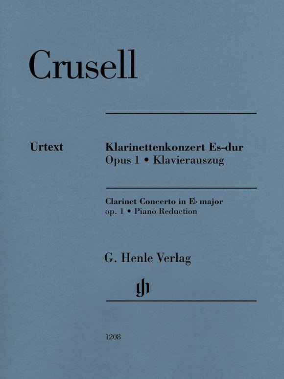 Crusell Clarinet Concerto in E-Flat Major, Op. 1 (Piano Reduction)