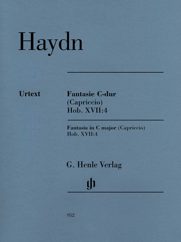 Haydn Fantasia in C Major (Capriccio) (Hob. XVII:4)