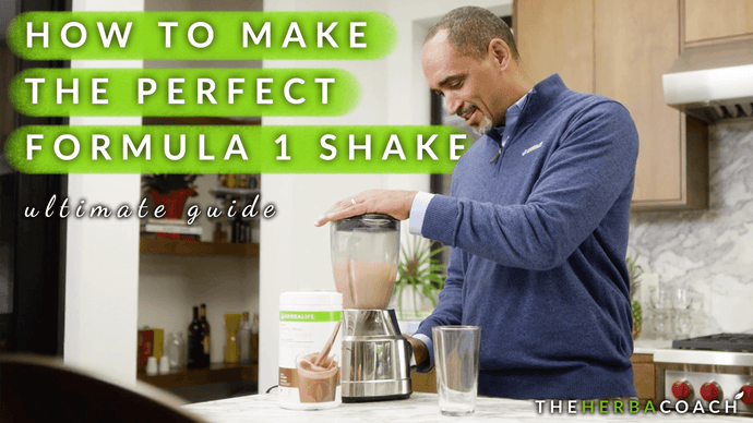 How To Make The Perfect Herbalife Formula 1 Shake