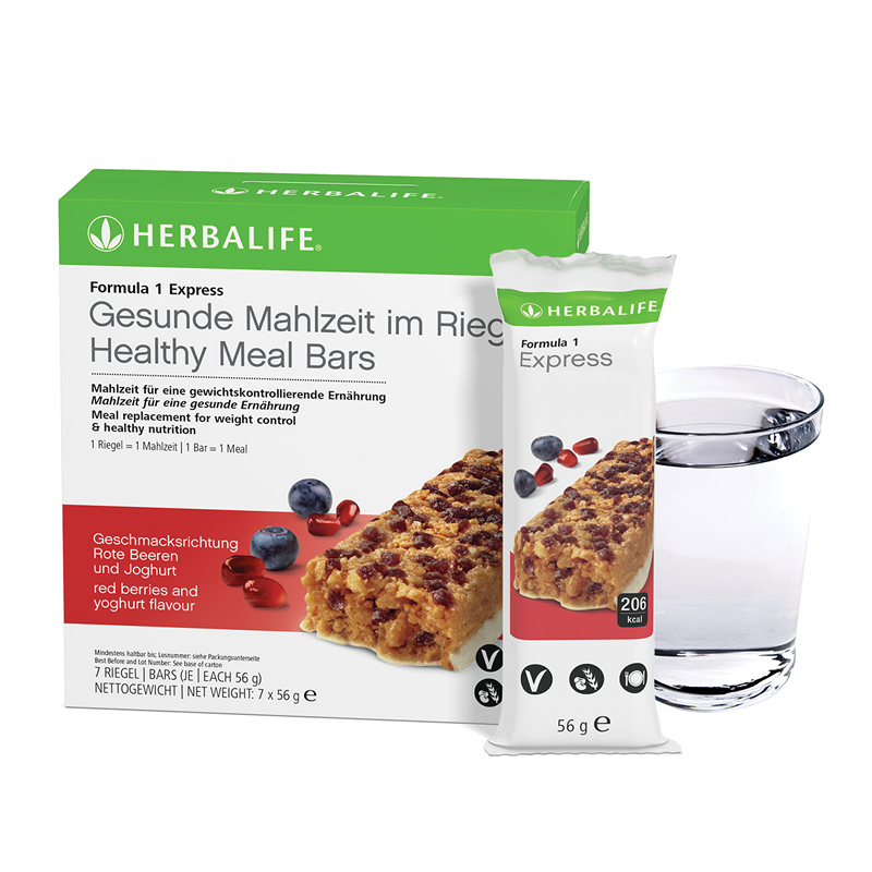 Herbalife Formula 1 Express Bars (7 bars per box) - The Herba Coach