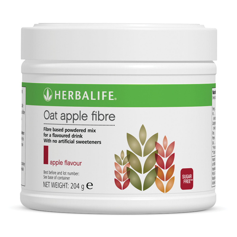 Herbalife Oat Apple Fibre Drink (204g) - The Herba Coach