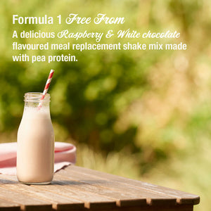 Herbalife Formula 1 Shake Free From - Raspberry & White Chocolate (500g)