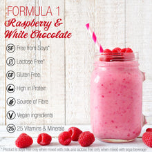 Load image into Gallery viewer, Herbalife Formula 1 Shake Free From - Raspberry & White Chocolate (500g)