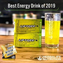 Load image into Gallery viewer, Herbalife Lift Off® Energy Drink Lemon-lime (10 Tablets) - The Herba Coach