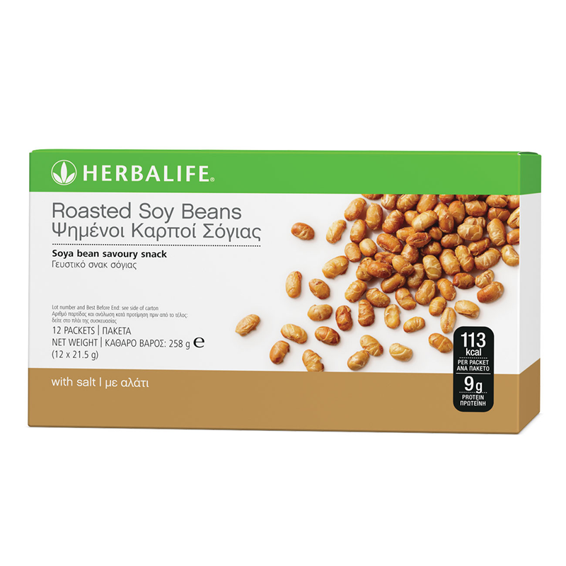 Herbalife Roasted Soy Beans - The Herba Coach